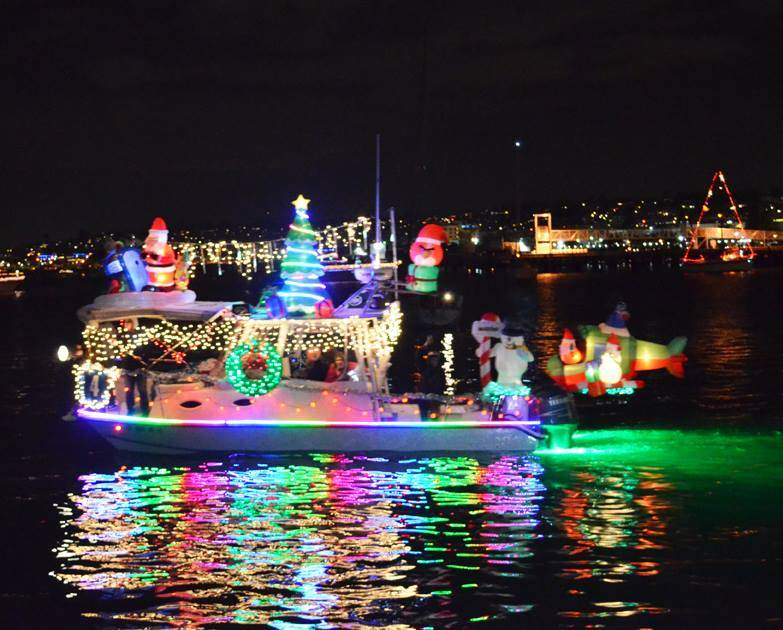 San Diego Bay Parade of Lights.