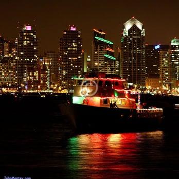 San Diego Bay Parade of Lights.