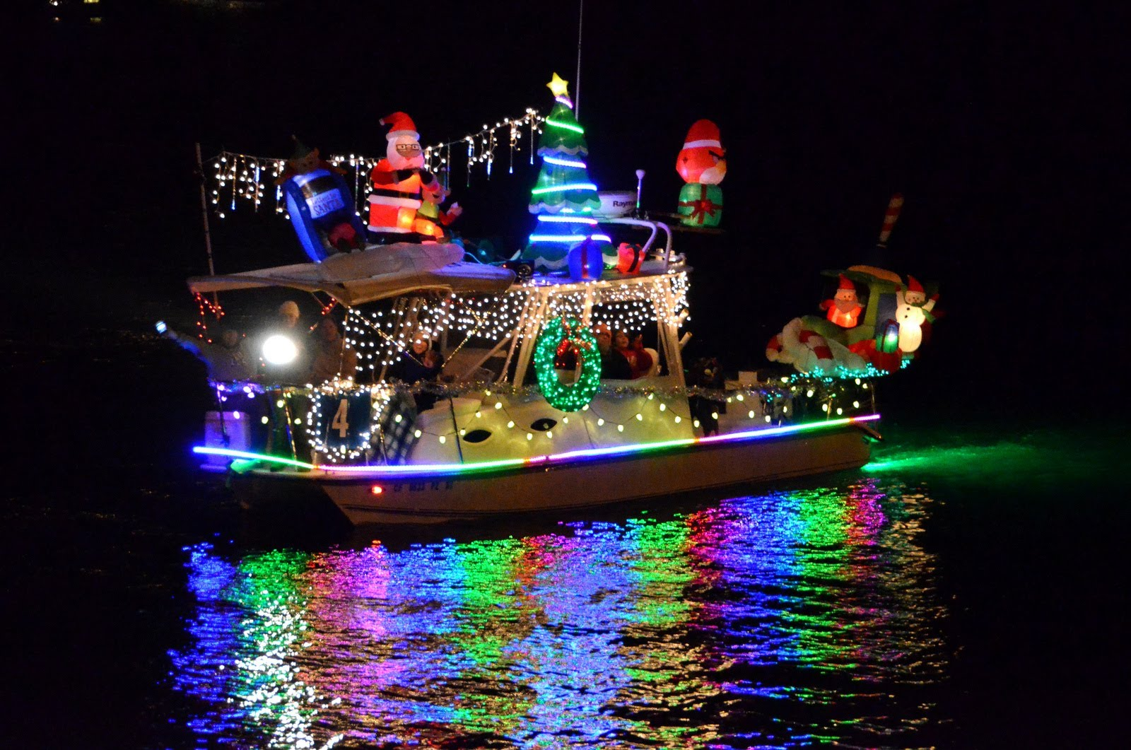 Parade of Lights Shines on San Diego Bay.
