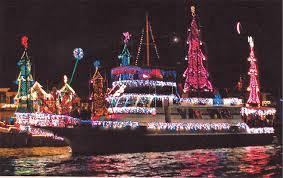 Annual San Diego Bay Parade of Lights.