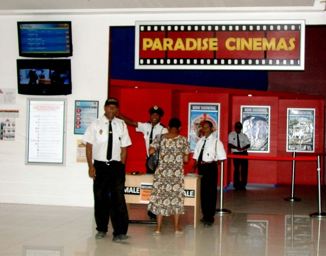 Photos of Paradise Cinema in Port Moresby, PG.