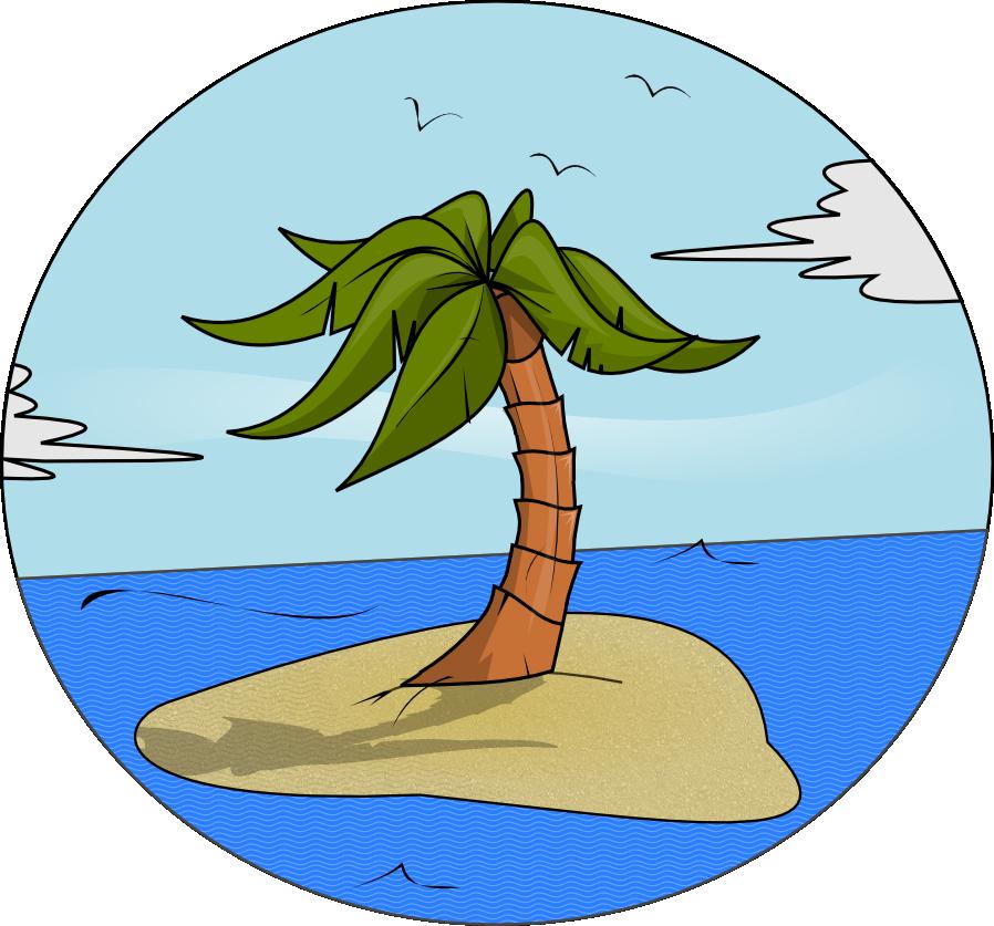 41+ Island Clip Art.