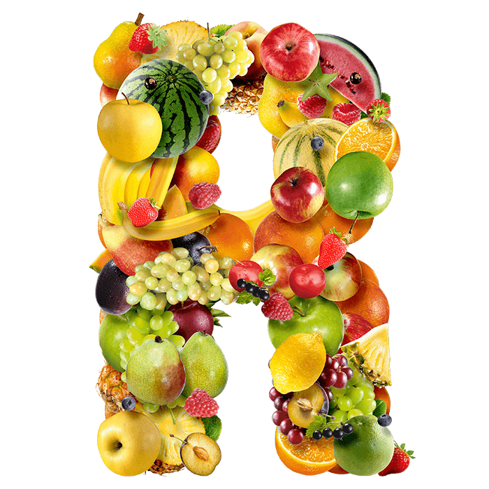 Fruits Font. Welcome To Food Typography Paradise in 2019.