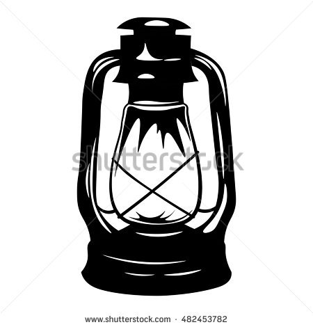 Paraffin Lamp Stock Images, Royalty.