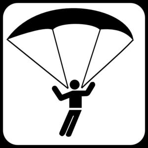 Paraglider Clip Art at Clker.com.