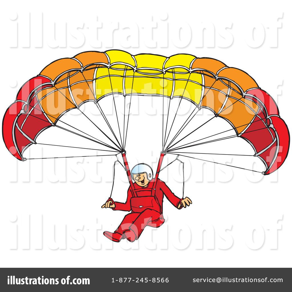 Paragliding Clipart #41904.