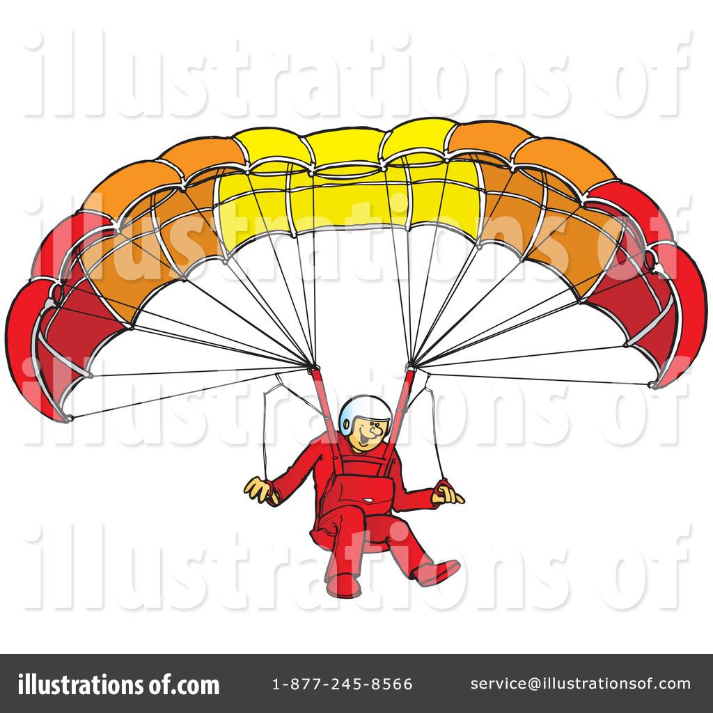Paragliding Clipart #41902.