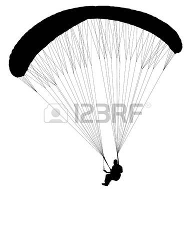 1,132 Paragliding Stock Vector Illustration And Royalty Free.