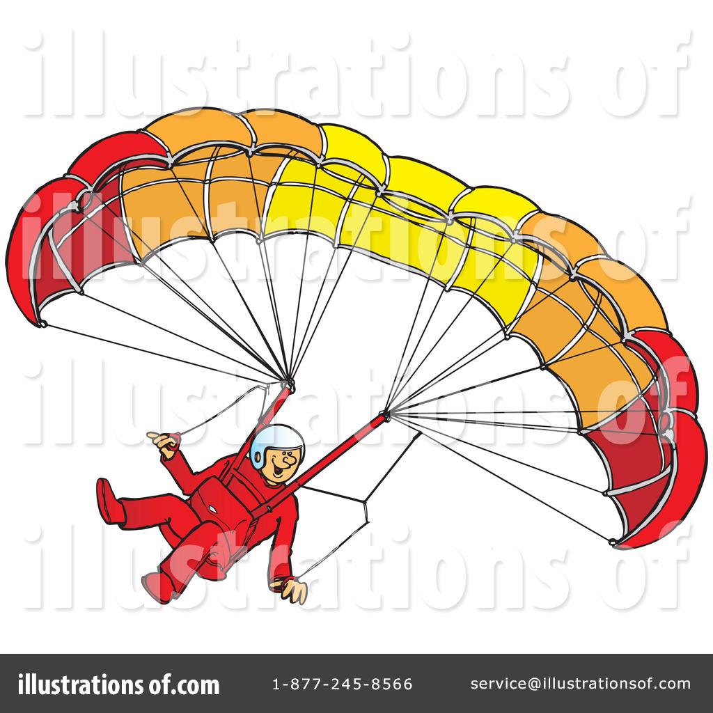 Paragliding Clipart #41905.