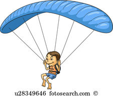 Paraglider Illustrations and Clipart. 69 paraglider royalty free.