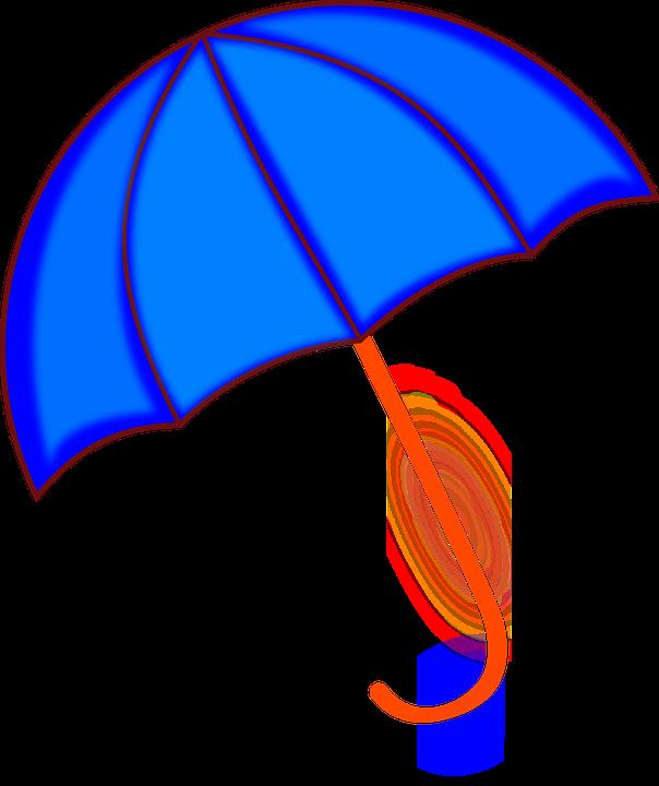 Download paraguas azul clipart Clip art.