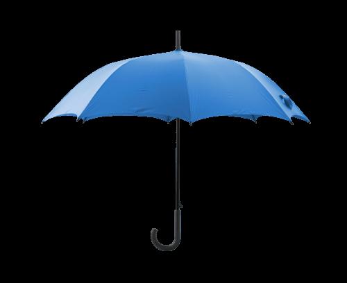 Plain Blue Umbrella transparent PNG.