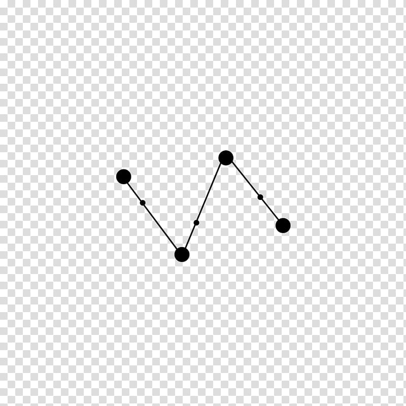 CONSTELLATION , black parallel lines with dots transparent.