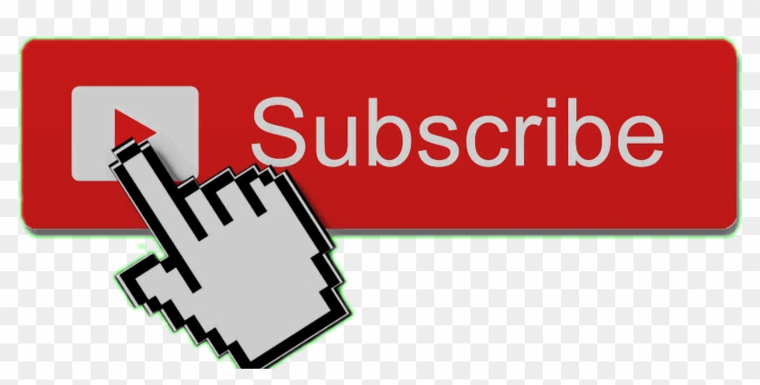 Subscribe Button With Mouse, HD Png Download.