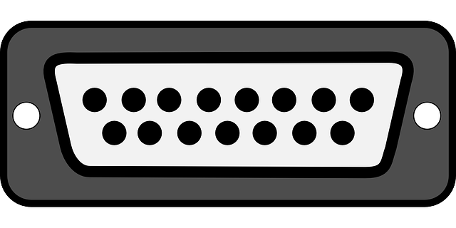 Free vector graphic: Port, Parallel Port, Plug.