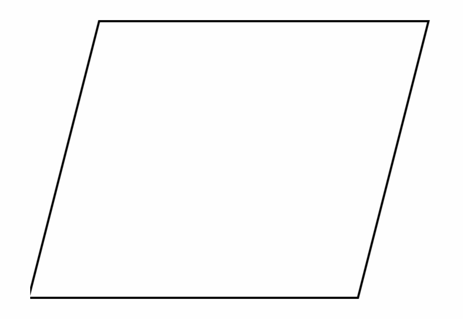 Parallelogram Transparent Png.