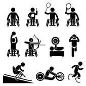 Paralympic games clipart