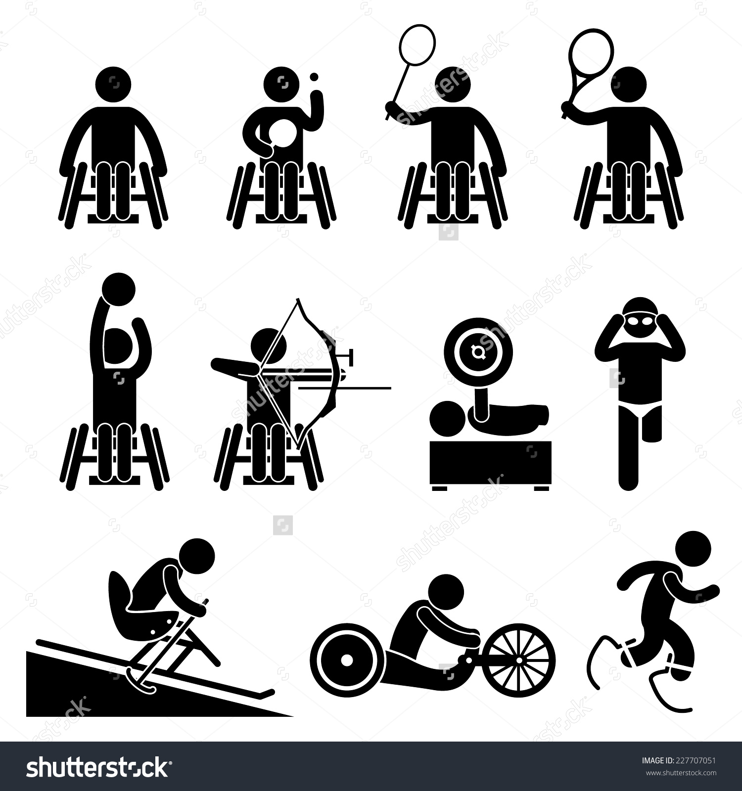 Vancouver Artist S Cartoon Of Florida School Shooting: Paralympic Games Clipart