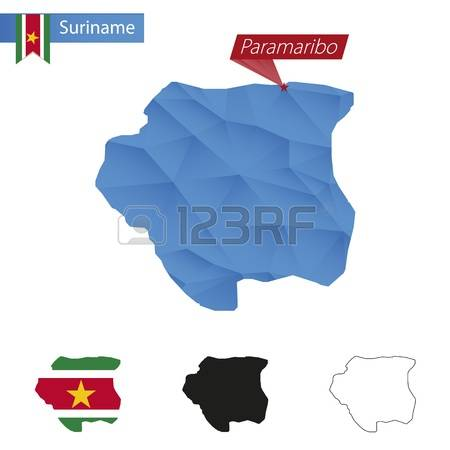 203 Suriname Outline Stock Vector Illustration And Royalty Free.