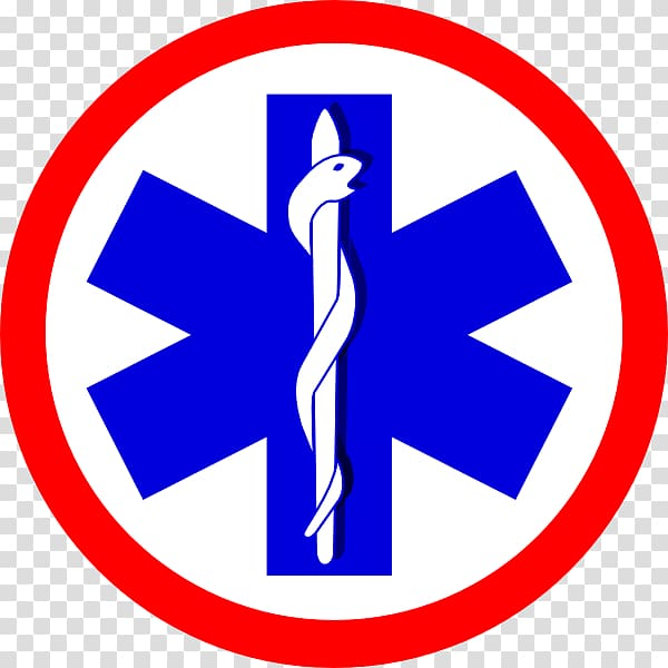 Logo Paramedic Star of Life Emergency medical services.