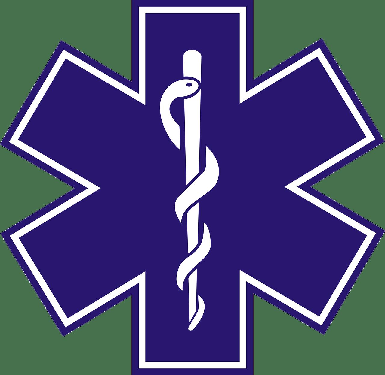 Symbol Paramedic transparent PNG.