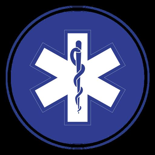 Emt paramedic badge.