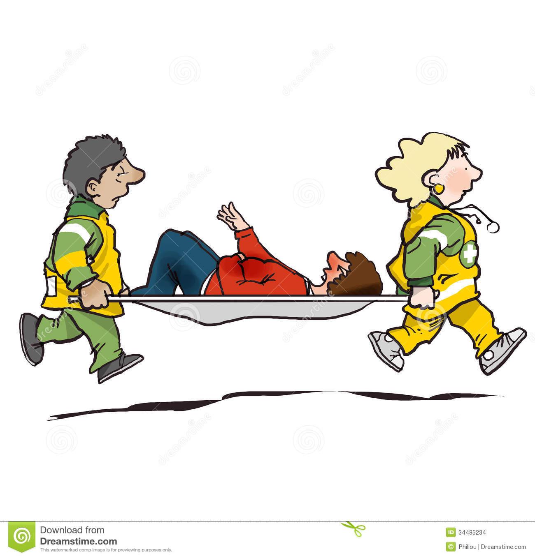 Paramedic ambulance clipart.