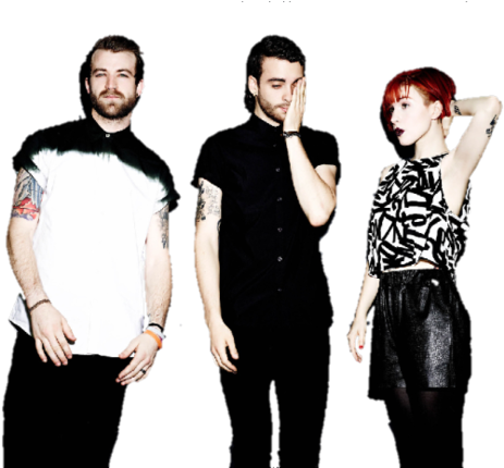 Download HD Paramore, Hayley Williams, And Jeremy Davis.