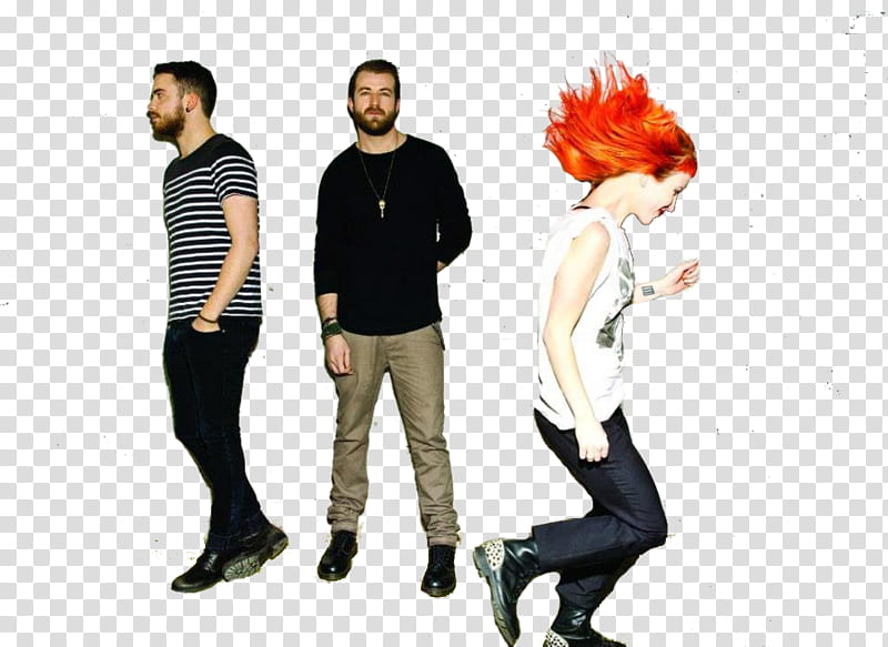 Paramore , Paramore band transparent background PNG clipart.