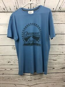 Details about Paramount Pictures Logo Film Viacom Company Studios Blue Camp  David T Shirt.