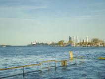Coast At The Parana River In Rosario, Argentina Stock Photo.