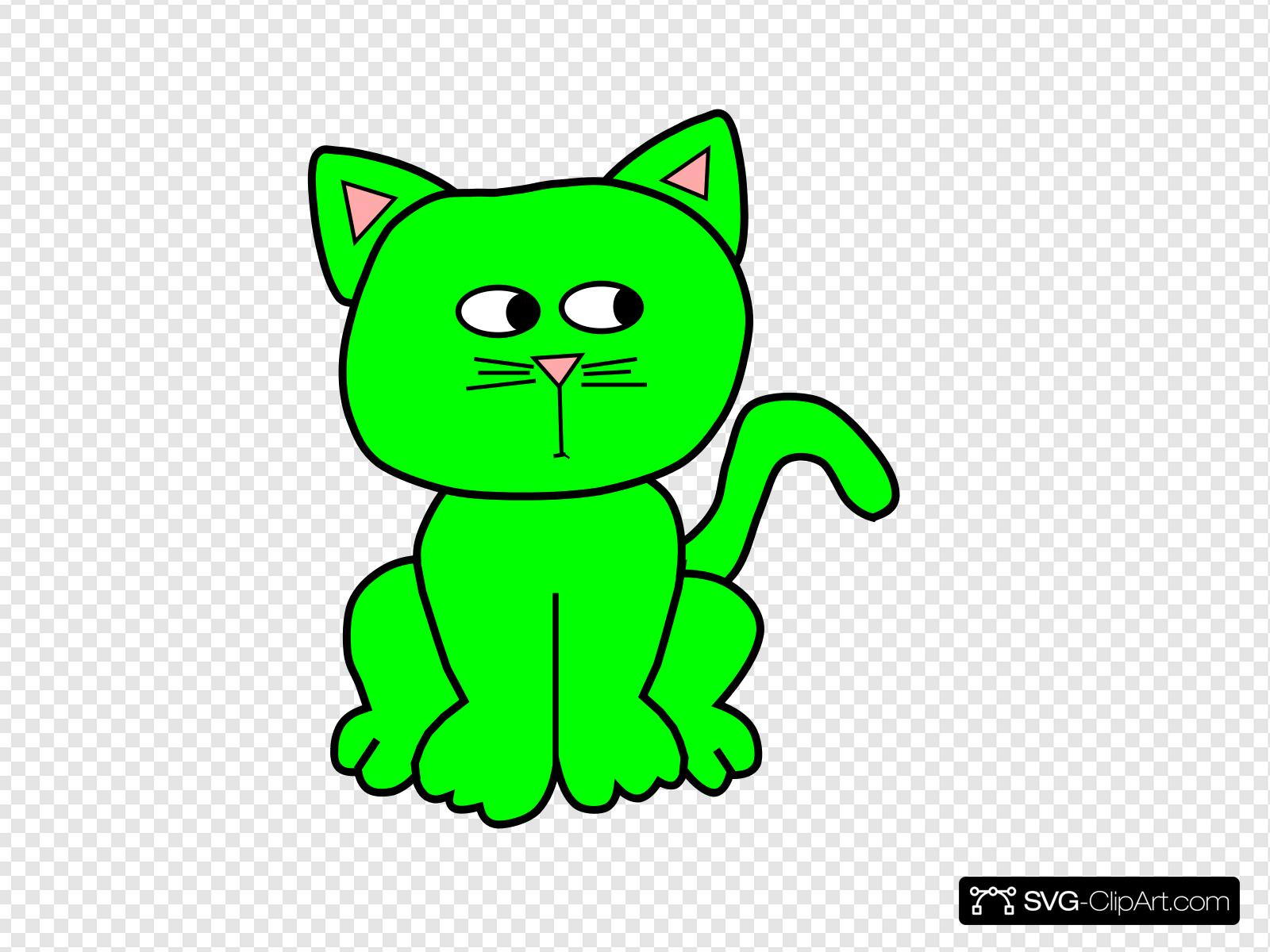Green Paranoid Clip art, Icon and SVG.