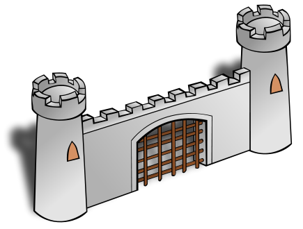 Free Castle Clipart, 2 pages of free to use images.