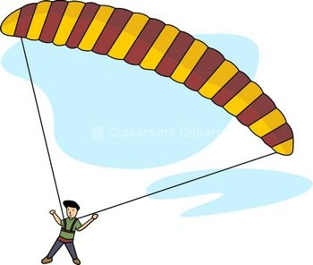 parasailing clipart clipground