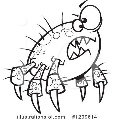 Parasite Clipart #1209614.
