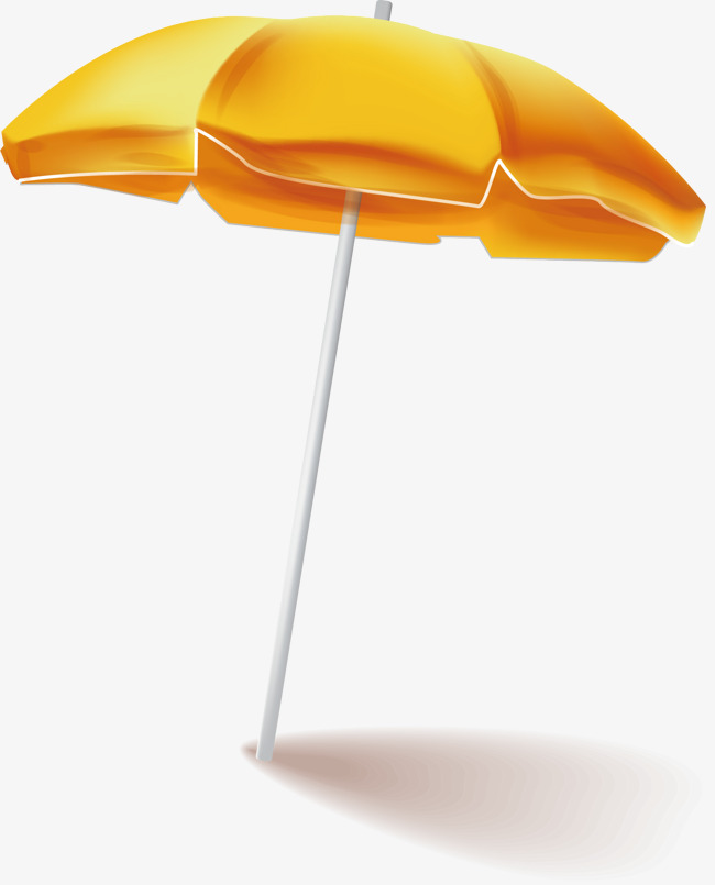 Parasol Png Vector Material, Yellow, Sha #24572.