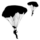 paratrooper clipart stock vector military paratrooper #47760130.