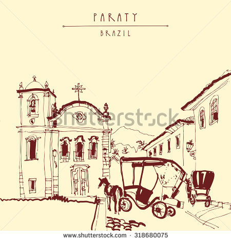 Paraty Stock Photos, Royalty.