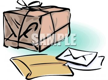 Package, Letters and Envelopes.