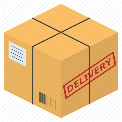 \'Parcel box delivery and shipping related (flat design)\' by icon stall.