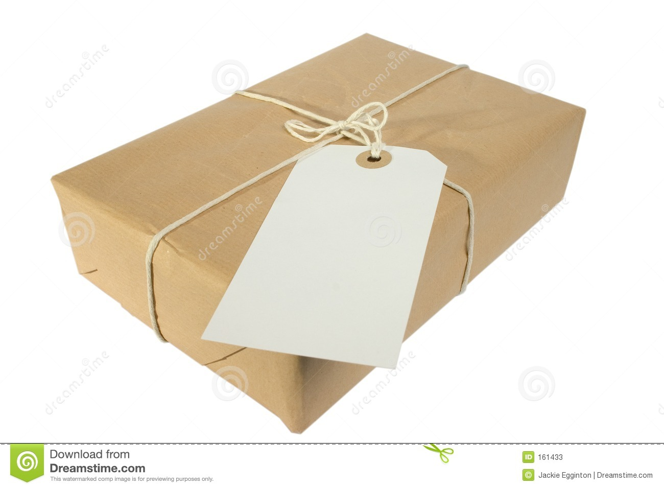 Parcel And Label Stock Photos.