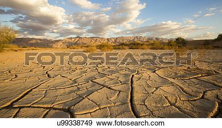 Stock Illustration of parched ground desert u99338749.