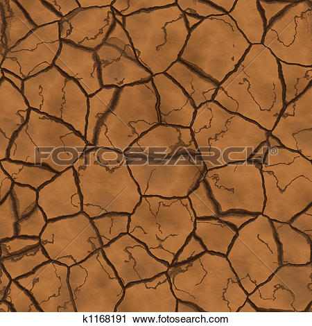 Clipart of Parched earth k1168191.