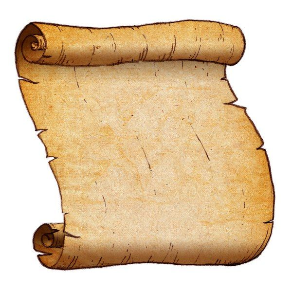 Parchment clipart free clipground for Pirate scroll template