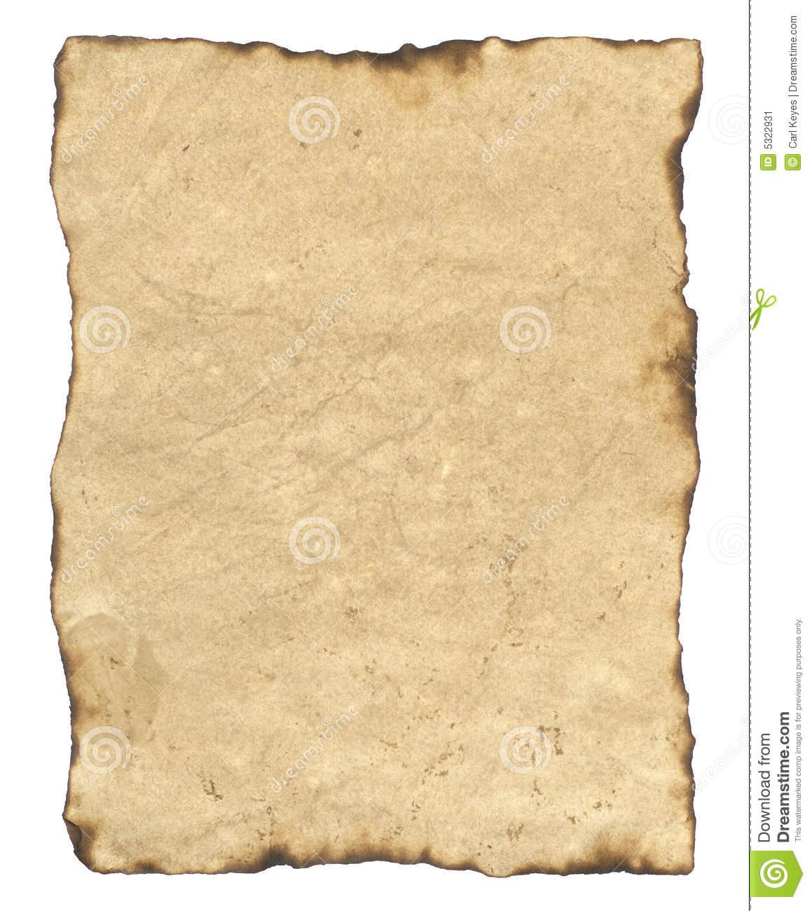 Parchment paper clipart.