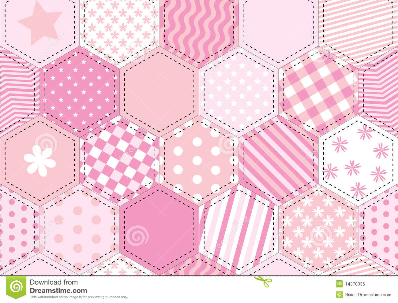 Patchwork Stock Illustrations.
