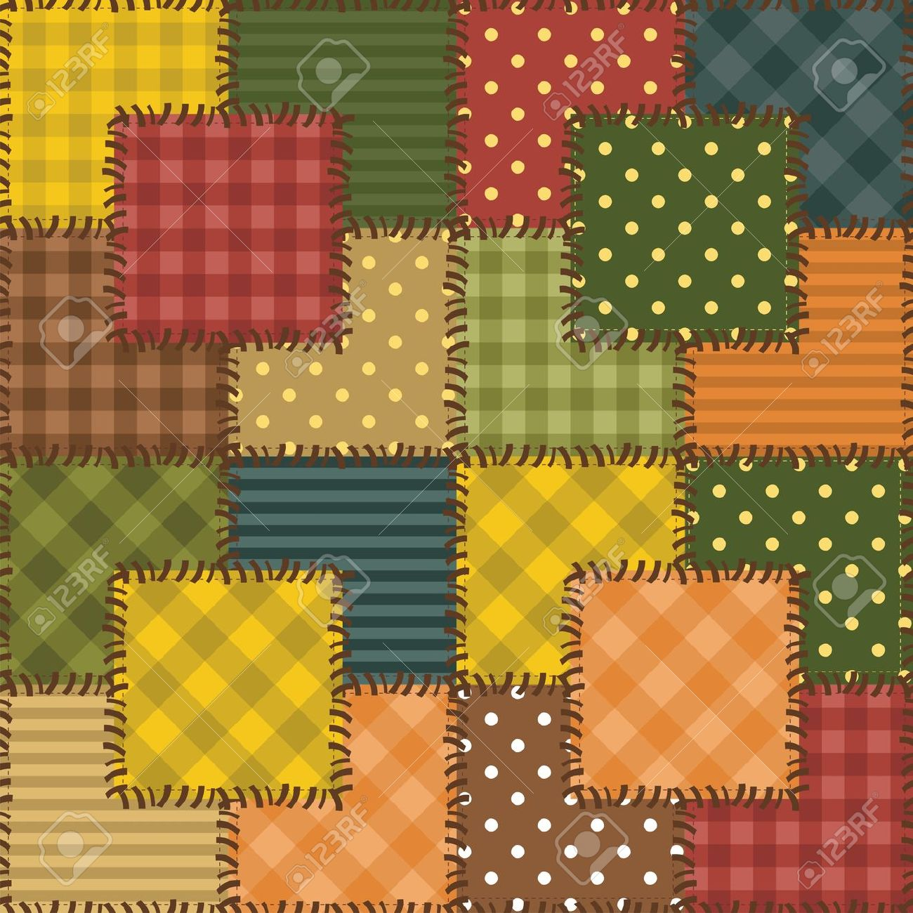 Patchwork Designs Clip Art Free.