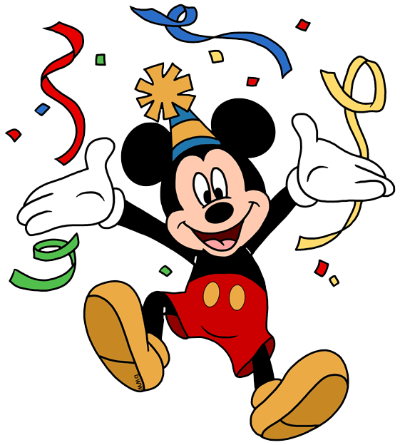 Disney Birthday/Party Clip Art Images.