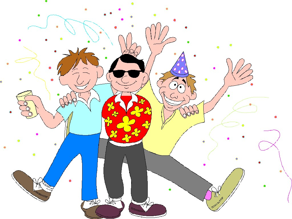 65 Free Party Clip Art.