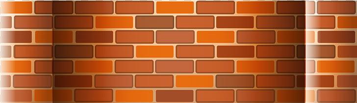 Pared de ladrillo naranja, pared, valla de pared de ladrillo.